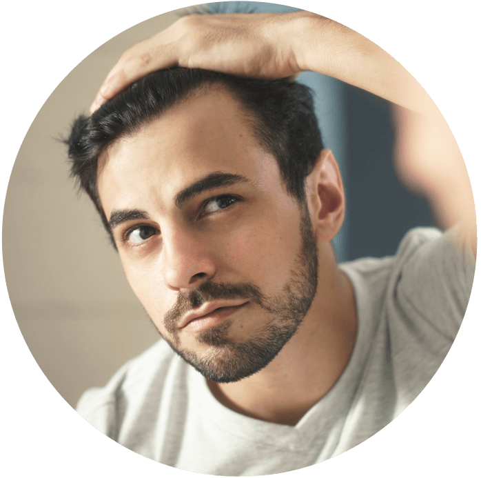 male hair loss laser therapy