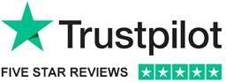 trust pilot 5 star reviews